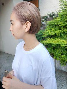 Japanese Short Hair, Makeup Tattoos, Hairstyles Haircuts, New Hair, Color Pop, Short Hair Styles, Hair Makeup, Hair Cuts, Hair Color