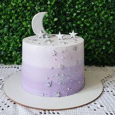 Fairy Birthday Cake, 14th Birthday Cakes, Elegant Birthday Cakes, Adult Birthday Cakes, Purple Birthday, Beautiful Birthday Cakes, Beautiful Cakes, Creative Cake Decorating, Birthday Cake Decorating