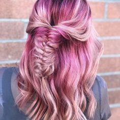 #hairartist #hairgoals #colormelt #rooted #hairpainting #mermaidhair #braids #i...