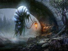 MtG Art: Erdwal Illuminator from Shadows over Innistrad Set by Seb McKinnon - MTG ART - Art of Magic: the Gathering