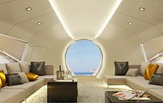 Amazing Oculus Yacht - design by Schopfer Yachts    - Who needs a home phewwwww I'll take one of these please