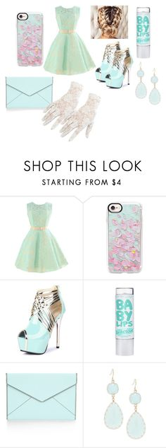 """Prom Queen"" by princesscouture1229 on Polyvore featuring Casetify, Rebecca Minkoff, Kenneth Jay Lane and Black"