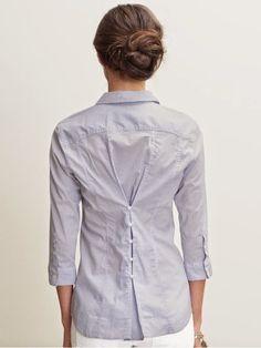 yo elijo coser: DIY: ideas para ajustar una blusa o un cárdigan que te queda grande