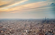 Paris From Tour Montparnasse Photograph