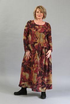 Rochie de zi cu imprimeu R043-M -  Ama Fashion