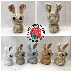 This crochet pattern is FREE to view online on my website https://hookedonpatterns.com/crochet-blog/crochet-bunny-f...