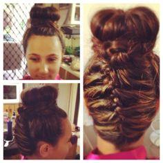 www.harpier.com.au  #braids #Upstyle #Bridalhair  Enquire now for wedding hair and Makeup!