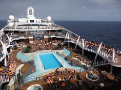 MSC Divina Outdoor Pool and Aqua Park