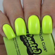 Color Club Yellin' Yellow swatched by Olivia Jade Nails Jade Nails, Olivia Jade, Color Club, Perfect Nails, Swatch, Nail Polish, Yellow, Mint Nails, Manicure