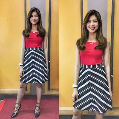 Maine Mendoza Outfit, Gma Network, Alden Richards, Theme Song, Film Festival, Actresses, Outfits, Attraction, Kit