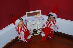 The Elf on the Shelf, 2011 - roasting marshmallows