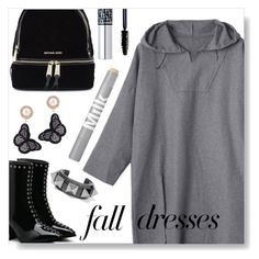 """""""Fall Dress"""" by simona-altobelli ❤ liked on Polyvore featuring Michael Kors, Christian Dior and Valentino"""