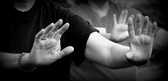"""""""Tai Chi Hands: Strong yet gentle, relaxed yet vibrant, expressing and concealing the internal life force."""" - TCJ taichicrossroads.blogpsot.com Tai Chi Moves, Tai Chi Qigong, Martial Arts Styles, Hand Photo, Slow Dance, Chinese Medicine, Meditation, Mindfulness, Health"""