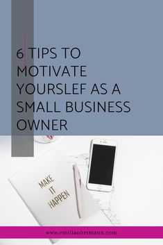 When things aren't going according to plan and motivation is low, here are 6 tips to keep the motivation going when running a small business. #motivateyourself #waystomotivate #blogdesignideas Blog Design, Web Design, Inspirational Quotes For Entrepreneurs, Branding, How To Stay Motivated, Motivate Yourself, Starting A Business, Business Tips, How To Start A Blog