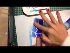 Uitleg: Achtergronden met lijm en dye-inkt - YouTube