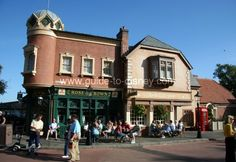 One of our favorite places in the world!! - Rose and Crown Pub in the United Kingdom Pavilion of the World Showcase at Disney Epcot