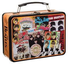 BEATLES PICTURES LARGE TIN TOTE [7730] - $15.00 : Beatles Gifts, The Fest