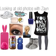 Looking at old photos with Zayn - Polyvore