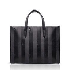 BVP High-end Men Real Leather Original Twill Suitcase Briefcase Attache Handbag  #BVP #SuitGarmentBag