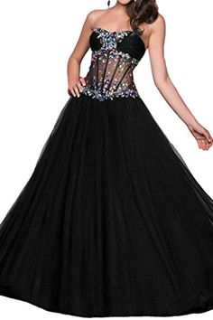 Gorgeous Bridal Ball Gown Sweetheart Rhinestones Prom Evening Dresses Long US Size 24W ** Want additional info? Click on the image.