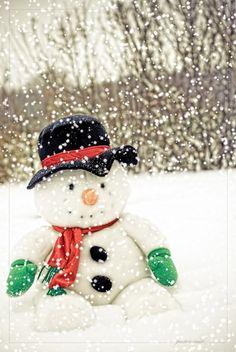 Frosty the Snowman...............I love snowmen!