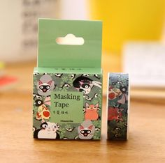 One of the cutest cat washi tapes I've ever seen <3