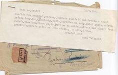 Letter of Anna Malinová sent from Terezín to her relatives. Foto: Rodinný archiv Aleny Voštové