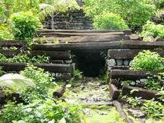 Ancient structures with little or no history. Very creepy.
