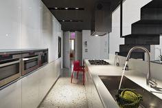 terrazzo vloer keuken