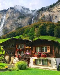 Mornings in Lauterbrunnen, Switzerland