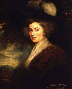 Portrait of Mrs. Charles James Fox (the former Elizabeth Armistead). Isn't she gorgeous? So like Cecilia!