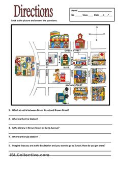 teach basic map skills with this printable map activity students will learn how to read a map. Black Bedroom Furniture Sets. Home Design Ideas