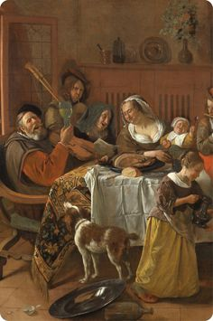 Dutch Golden Age, Hooch, Vintage Interiors, Dutch Artists, Old Paintings, Rembrandt, Baroque, Renaissance, Holland