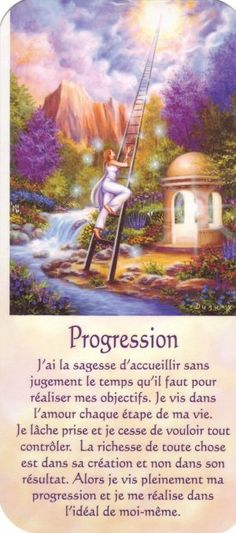 progression + texte