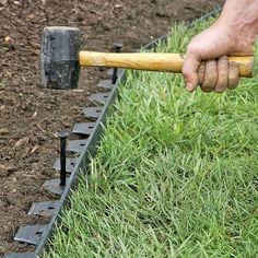EasyFlex™ No Dig Edging, 50' #LandscapeDesignPlans #LandscapingIdeas
