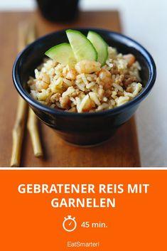 Gebratener Reis mit Garnelen - smarter - Zeit: 45 Min. | eatsmarter.de
