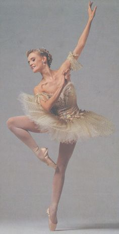 "Ballerina Anneli Alhanko. She is one of only 11 dancers to ever earn the rare and honored title ""Prima Ballerina Assoluta."" ♥ www.thewonderfulworldofdance.com #ballet #dance"