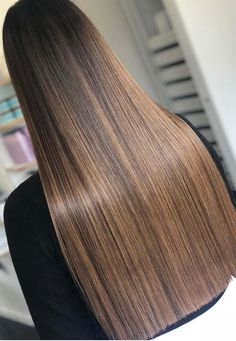 Its all about finding the right hair colors according to skin tone when we talk about the best hair colors to apply. Find here the most flattering ideas of bronzed brown hair colors for long and sleek straight hair colors in 2018. It looks like the dark chocolate hair colors but its shine and charm is a different.