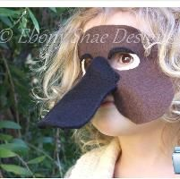 You have to see Tiger mask pattern, one size fits most by Ebony Shae!