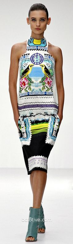 Mary Katrantzou Spring Summer 2013 Collection