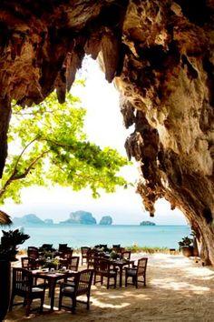 the grotto @ rayavadee resort : krabi