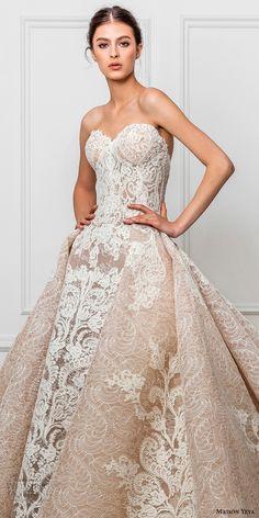 maison yeya 2017 bridal strapless sweetheart neckline full embellishment elegant glamorous princess ivory a line wedding dress royal train (02) zv