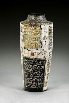 Sylvian Meschia, Artist, vase.