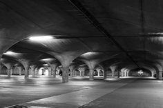 University of Melbourne's underground car park