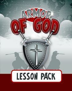 Armor of God Lesson Pack — Teach Sunday School Preschool Bible, Bible Activities, Preschool Lessons, Church Activities, Church Games, Bible Games, Preschool Projects, Preschool Curriculum, Bible Study For Kids