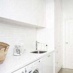 Long Laundry Rooms, Modern, laundry room, Rosemount Kitchens