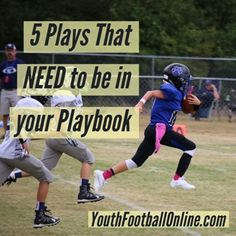 5f536c8c492a Here is a list of 5 Must-have Plays for Every Youth Football Offensive  Playbook