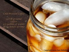 What is cold-pressed coffee?    Explained simply, cold brewed coffee is a coffee extract (or syrup) brewed using fresh ground coffee and cold water. The syrup can be used to make awesome iced-coffees… or added to hot water for a wonderfully smooth tasting hot drink.  There are many ways to use cold-brewed coffee. For a hot cup of coffee just add boiling water.