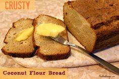 Crusty Coconut Flour Bread (Paleo, SCD) realfoodforager.com