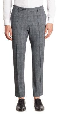 Saks Fifth Avenue x Traiano Stretch Pleated Detailed Pants